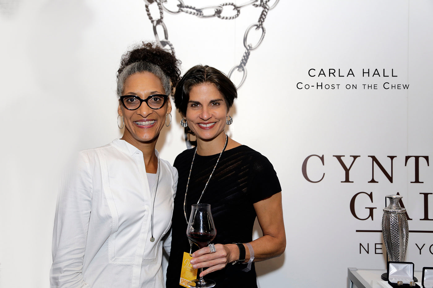 Carla Hall fashion style