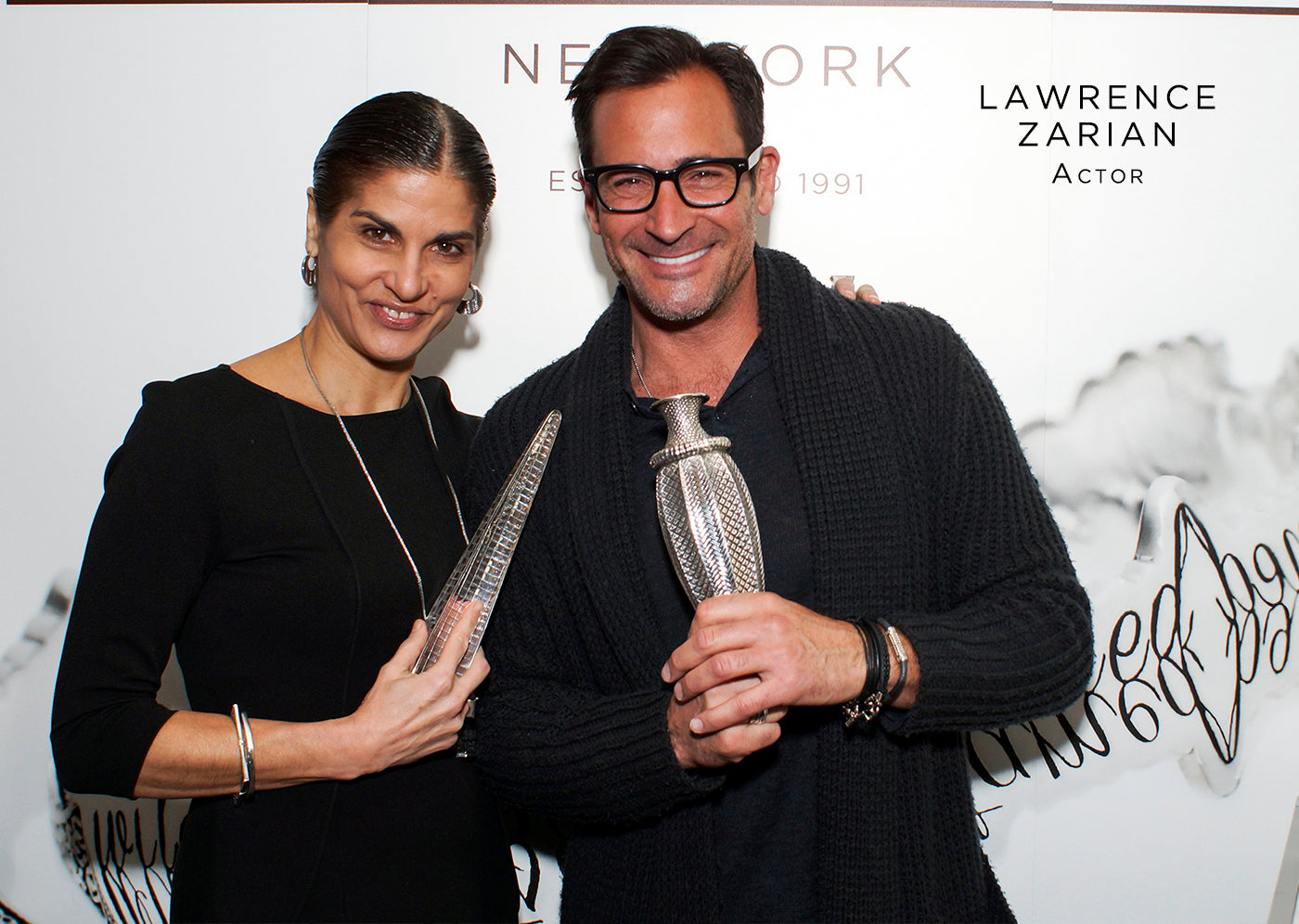 Lawrence Zarian fashion style