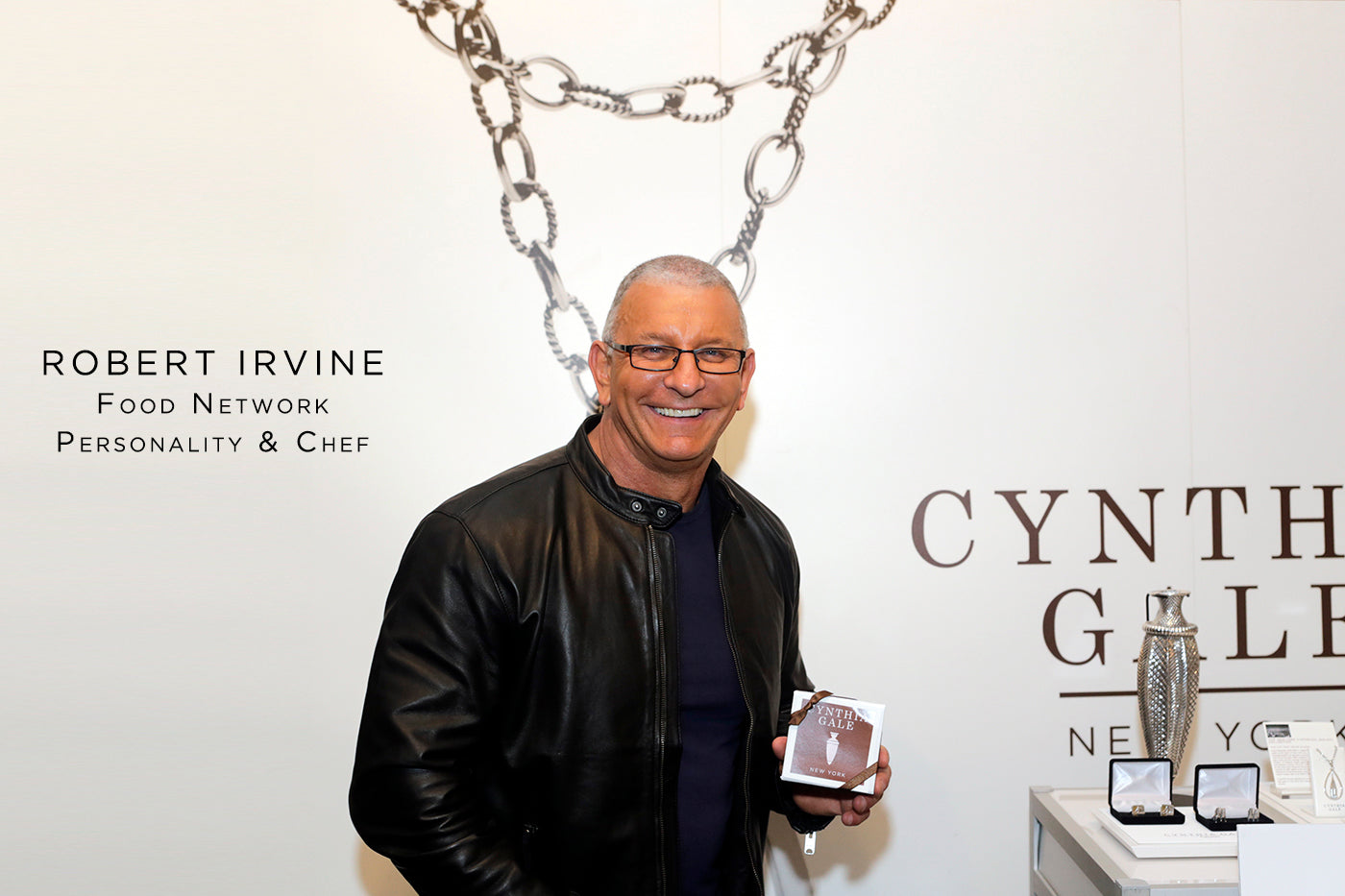 Robert Irvine fashion style