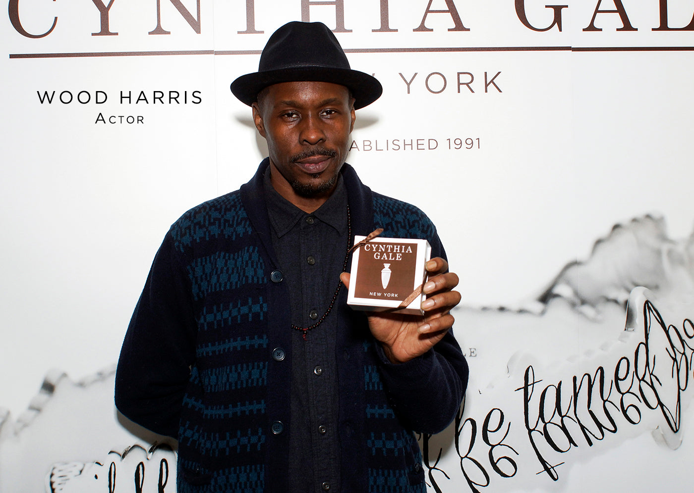 Wood Harris fashion style