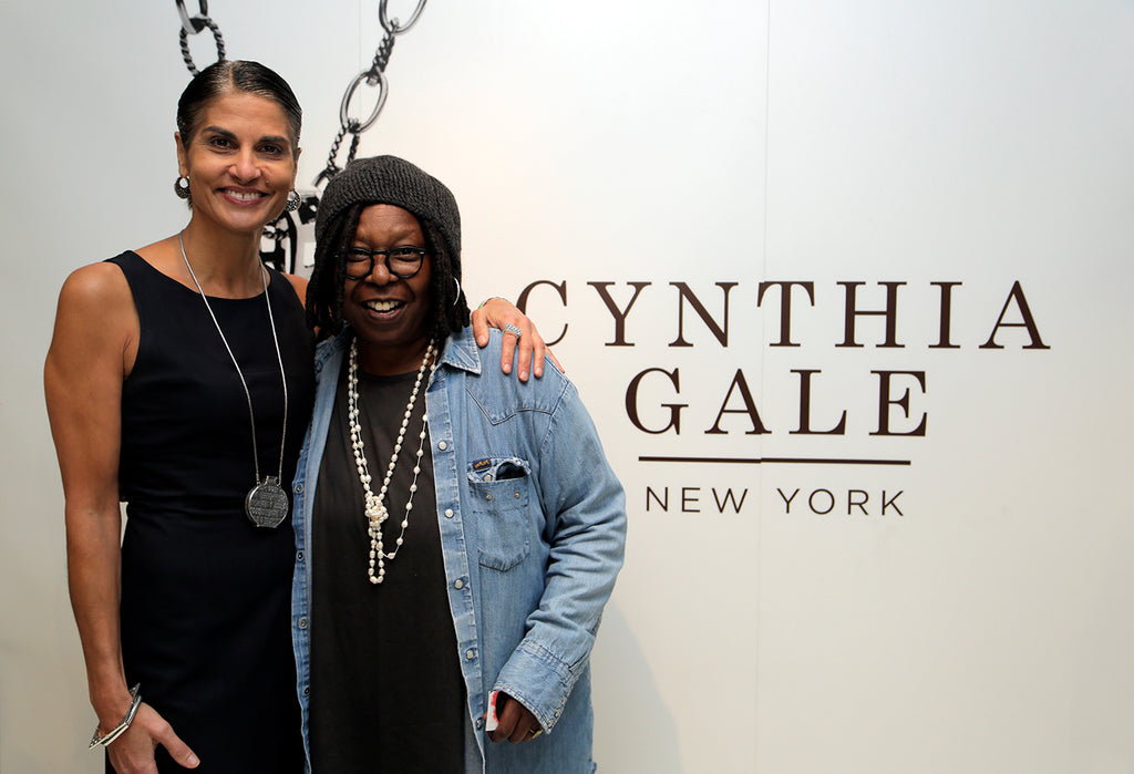 Cynthia Gale & Whoopi Goldberg