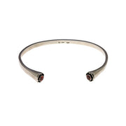 Mod Pod Sterling Silver Birthstone Stack Cuff - Cynthia Gale New York - 2