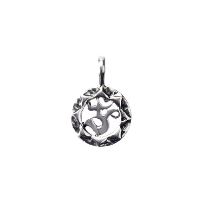 Sweet Serenity Ohm Symbol Sterling Silver Charm
