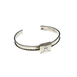 Love Letters Sterling Silver Envelope Cuff Bracelet - Cynthia Gale New York Jewelry