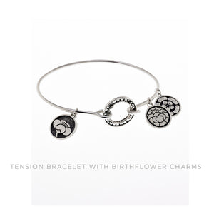 Ceremonial Kamon Sterling Silver Collectible Charm Bracelet - Cynthia Gale New York Jewelry