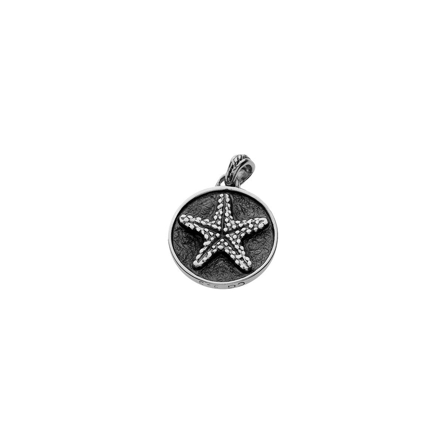 Sunshine Starshine Starfish Sterling Silver Charm