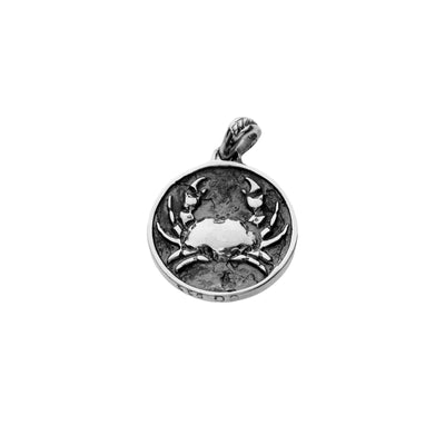 Crab Sterling Silver Charm