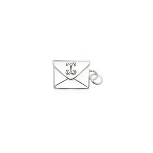 Love Letters Petite Envelope Sterling Silver Charm - Cynthia Gale New York Jewelry