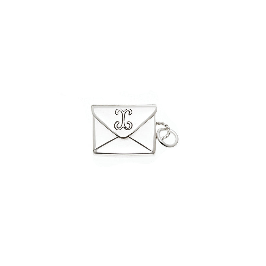 Love Letters Petite Envelope Sterling Silver Charm