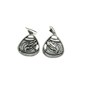 Belle Nouveau Sterling Silver Teardrop Earring - Cynthia Gale New York Jewelry