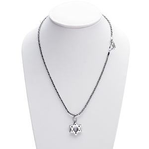 Jewish Museum Jewish Star Sterling Silver Necklace - Cynthia Gale New York Jewelry