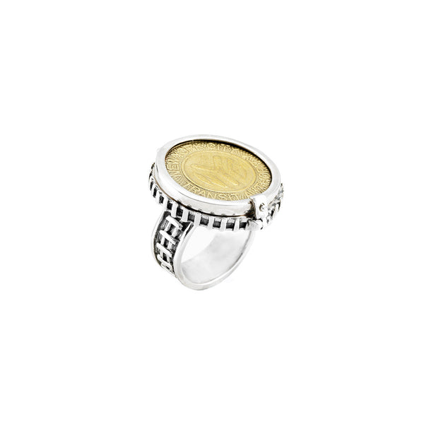 NYC Authentic Token Sterling Silver Keepsake Ring - Cynthia Gale New York - 1