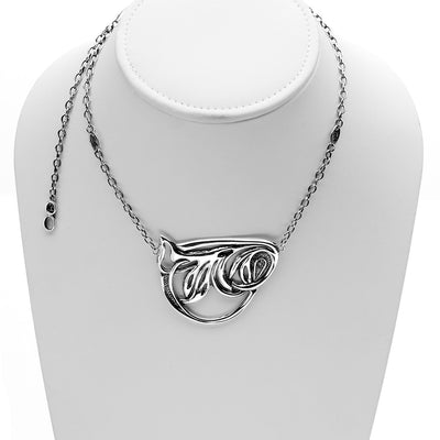 Belle Nouveau Sterling Silver Statement Necklace - Cynthia Gale New York Jewelry