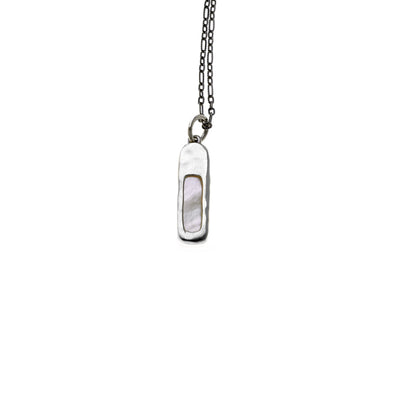 Mystical Pagoda Organic Sterling Silver Necklace - Cynthia Gale New York Jewelry