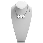 NYC Skyline The City That Never Sleeps Sterling Silver Necklace - Cynthia Gale New York - 2