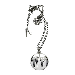 New York City Skyline Sterling Silver Pendant Necklace - Cynthia Gale New York - 1