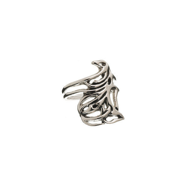 Belle Nouveau Klimt Sterling Silver Ring - Cynthia Gale New York Jewelry