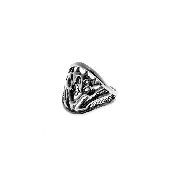 Belle Nouveau Grasset Sterling Silver Ring - Cynthia Gale New York Jewelry