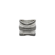 Omega Infinity Sterling Silver Spin Ring - Cynthia Gale New York Jewelry