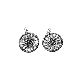 Ca D'zan Sunset Sterling Silver Statement Earring - Cynthia Gale New York Jewelry