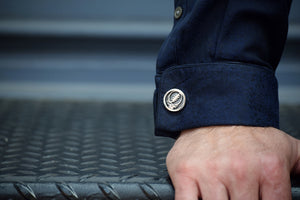 Steal Your Face Sterling Silver Cufflinks
