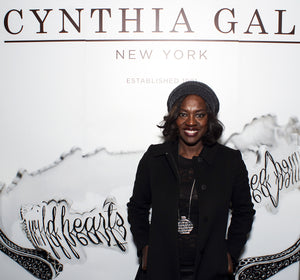Viola Davis wearing Cynthia Gale New York jewelry necklace
