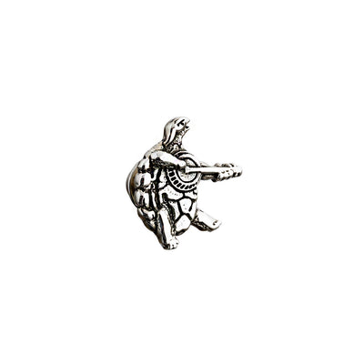 Terrapin Station Sterling Silver Pin