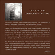 Mystical Pagoda Collection - Cynthia Gale New York Jewelry