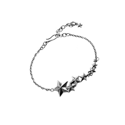 Rock Star Sterling Silver Bracelet - Cynthia Gale New York - 1