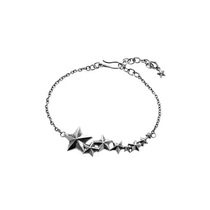 Rock Star Sterling Silver Bracelet - Cynthia Gale New York - 2