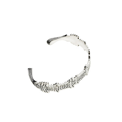 Wild Hearts Can't Be Tamed Sterling Silver Cuff - Cynthia Gale New York Jewelry