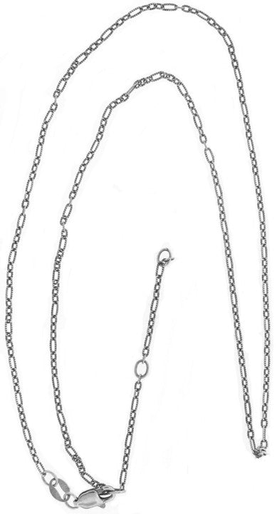 Hanzi Love April Sterling Silver White Topaz Necklace - Cynthia Gale New York Jewelry