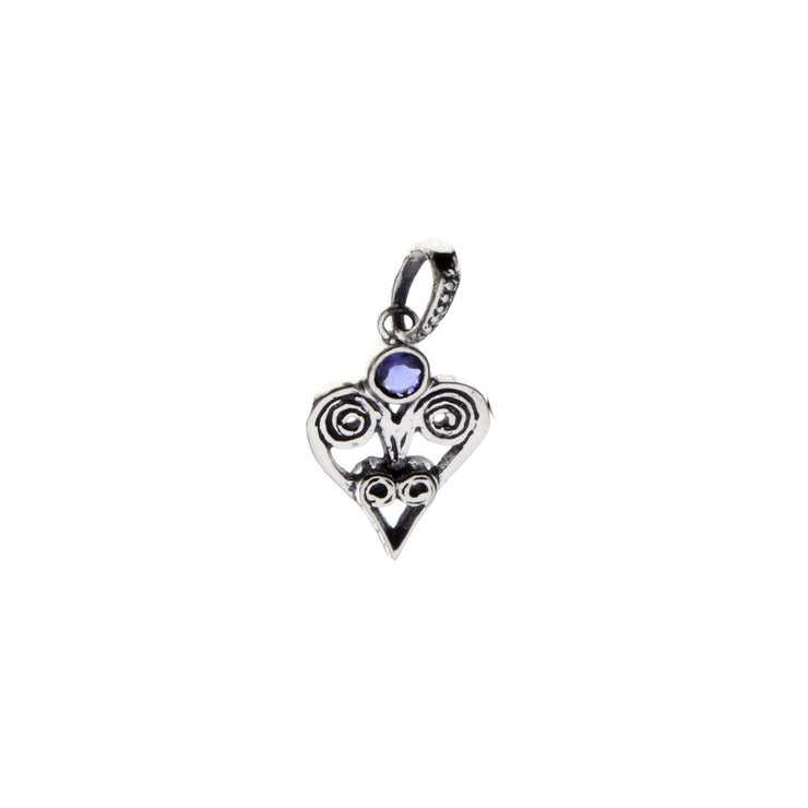Barnes Metalwork Birthstone Sterling Silver Heart Charm - Cynthia Gale New York - 12