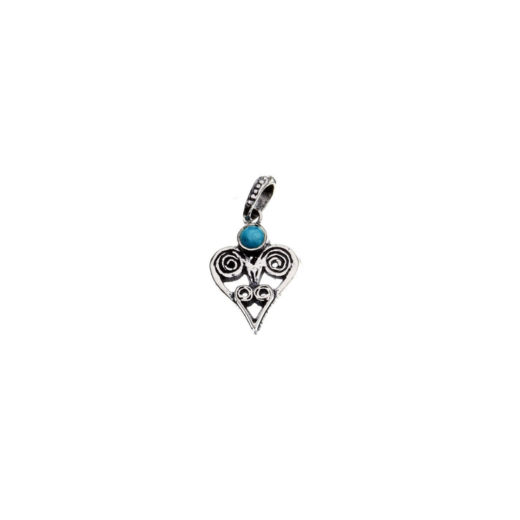 Barnes Metalwork Birthstone Sterling Silver Heart Charm - Cynthia Gale New York - 15