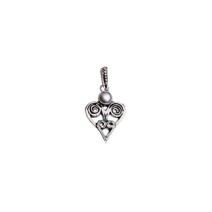 Barnes Metalwork Birthstone Sterling Silver Heart Charm - Cynthia Gale New York - 9