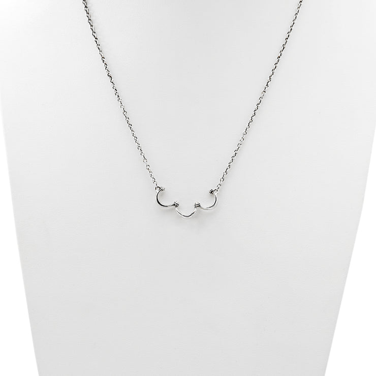 Charms Collector Sterling Silver Necklace