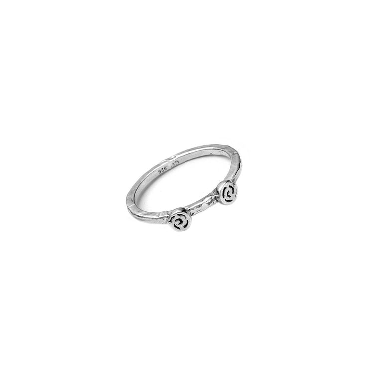 Barnes Metalwork Sterling Silver Stacking Ring - Cynthia Gale New York Jewelry