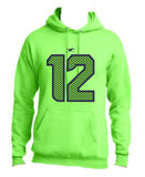 12TH FAN HOODIE GREEN