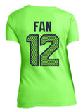 12TH FAN-GREEN (W)