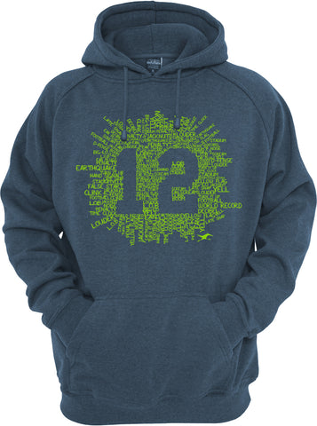 12TH COLLAGE HOODIE