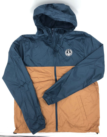 North West Circle Windbreaker (NAVY/SADDLE)