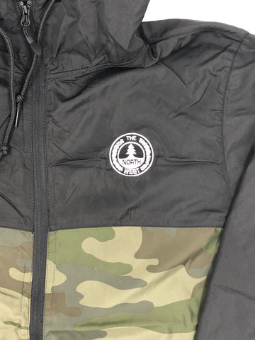 North West Circle Windbreaker (Camo/Black)