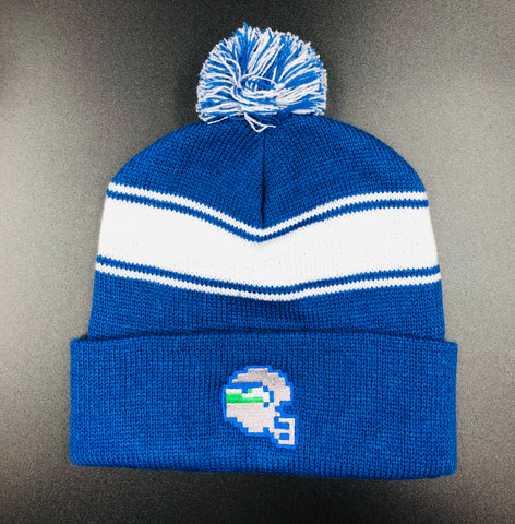 OLD SKOOL SEA PIXEL KNIT BEANIE
