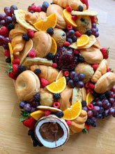 Load image into Gallery viewer, breakfast platter, brunch platter, brunch board, pastry platter, nutella