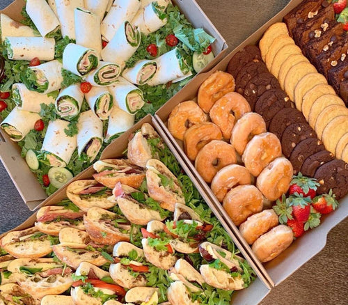 corporate lunch, corporate catering, platters, florida