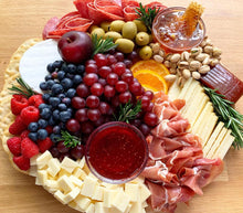 Load image into Gallery viewer, harvest board, cheese platters, meat platters, overwood, party platter
