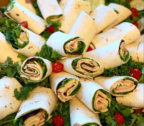 cheese wraps, corporate catering, food, miami, healthy