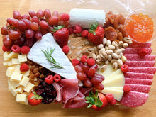 Load image into Gallery viewer, cheese platter, cheese board, charcuterie board, gift platter, edible gifts
