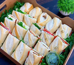 Manchego Sandwich, manchego cheese, corporate catering, corporate event