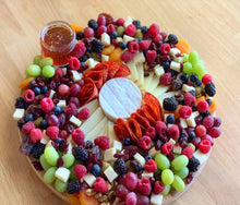 Load image into Gallery viewer, overwood, edible gifts, edible arrangements, gift platters, cheese platter